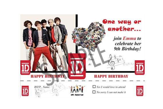 Watch more like One Direction Birthday Cards That Are For Girls 12 – One Direction Birthday Greeting