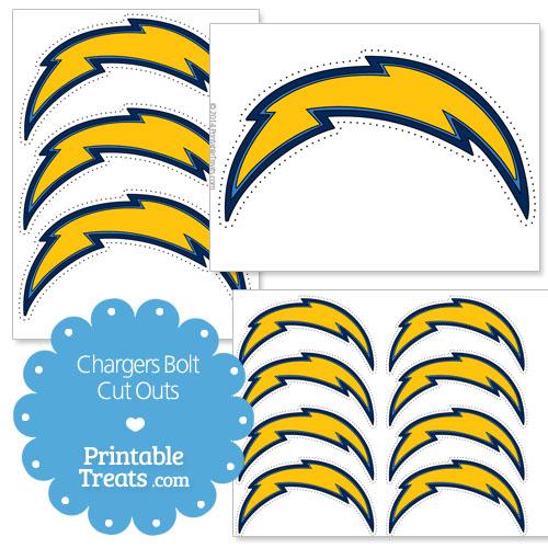 Printable Chargers Logo