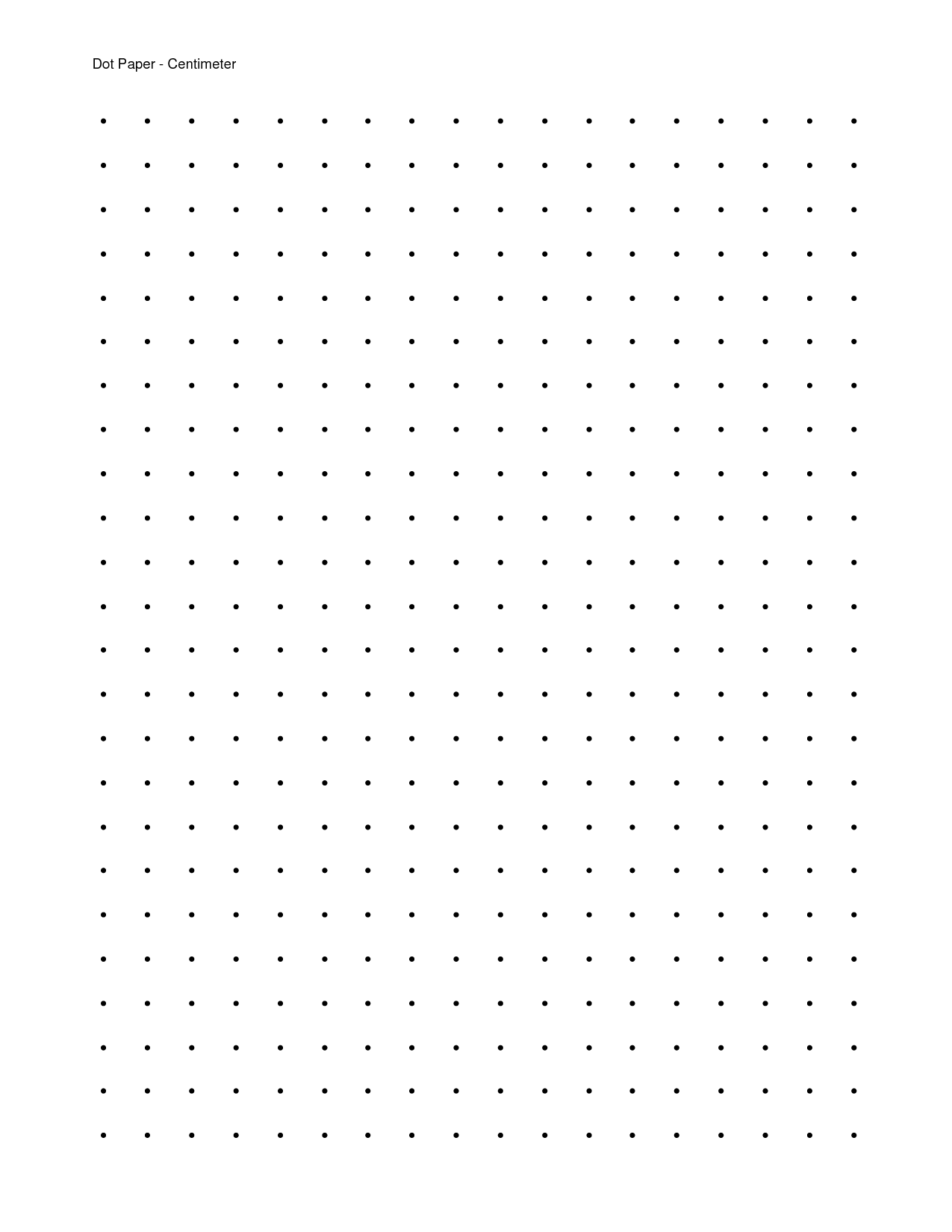 7 Images of Free Printable Dot Grid Paper