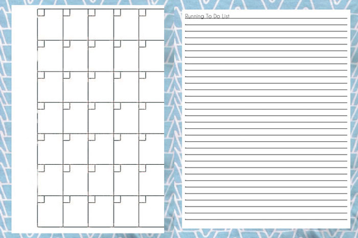 Printable Weekly Planner Calendar Page
