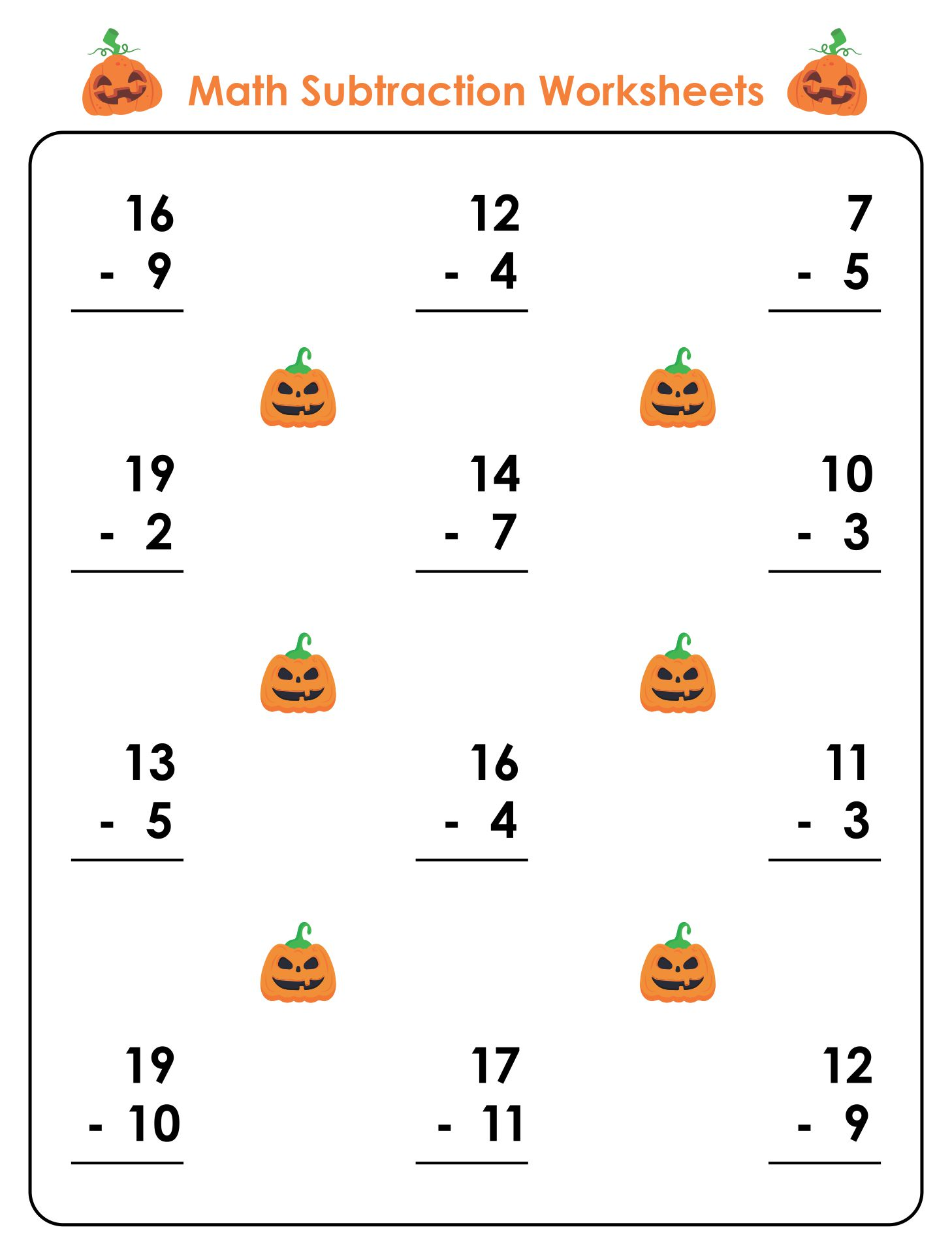 Math Worksheets » Grade 1 Math Worksheets Addition And Subtraction ...