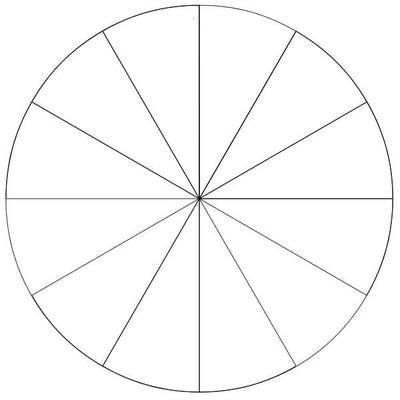 6 Images of Blank Color Wheel Worksheet Printable