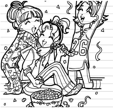 8 Images of Dork Diaries Coloring Pages Printable