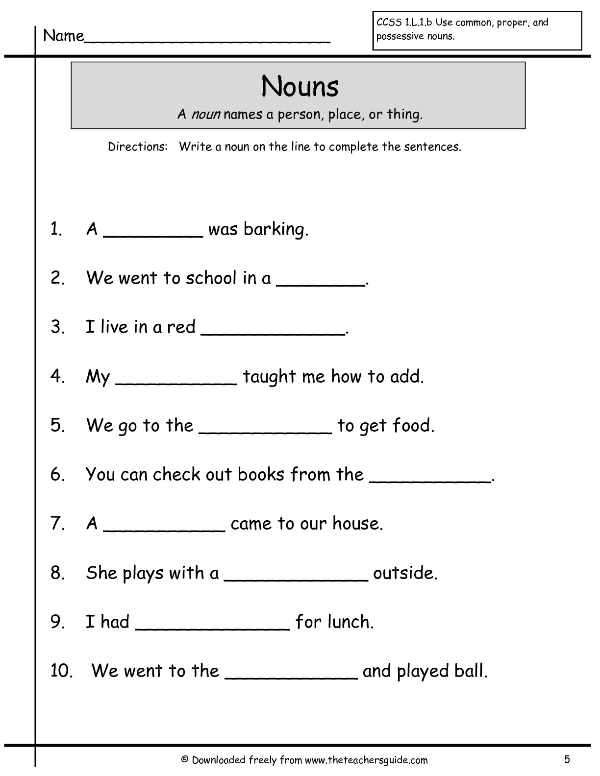 Worksheet Reading Comprehension For First Grade printables first grade reading printable worksheets 8 best images of games 1st