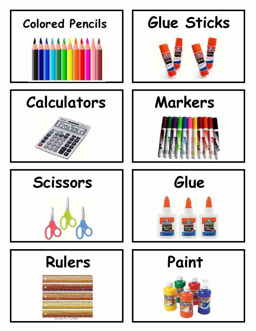 5 Images of Pre-K Classroom Labels Printable