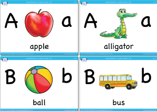 9 Best Images Of Simple Printable Alphabet Flash Cards