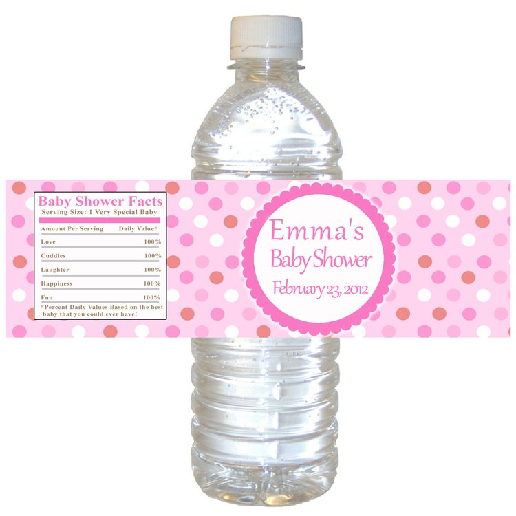 9 Images of Free Printable Water Bottle Labels Baby Shower