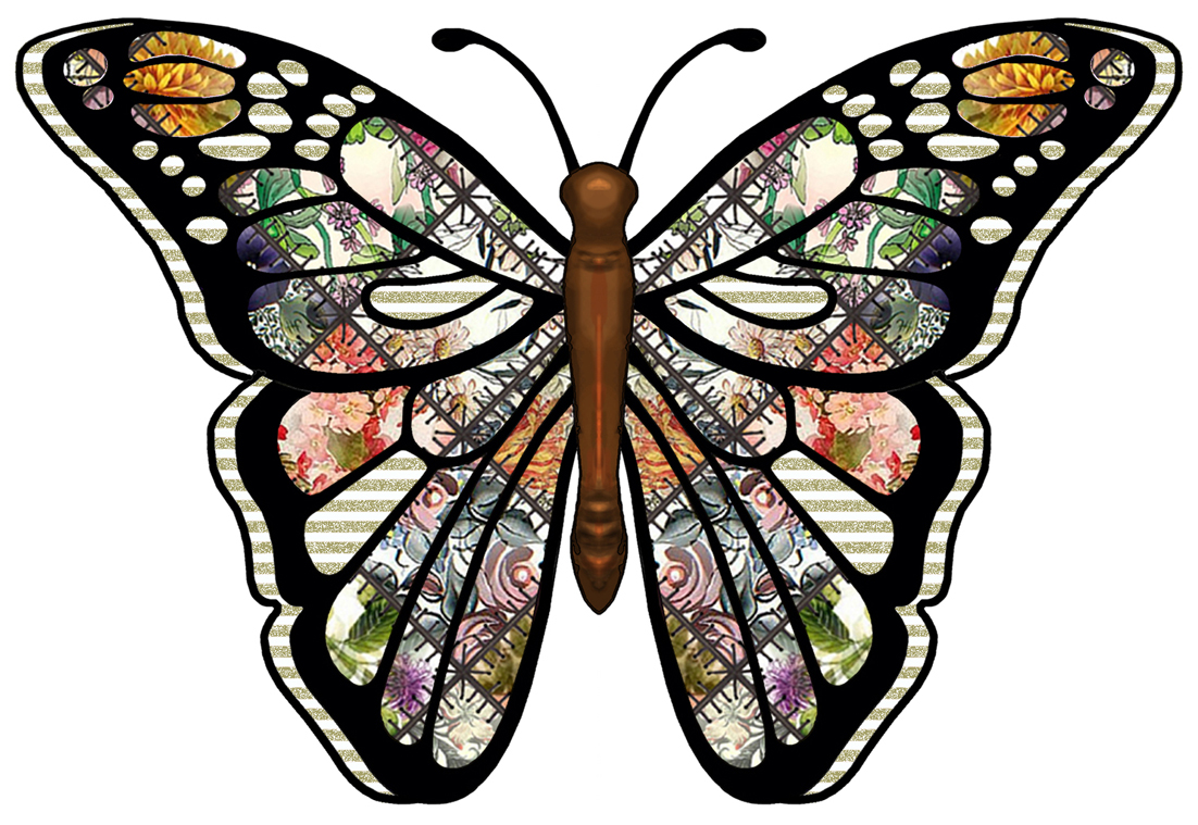7 Images of Butterfly Clip Art Free Printable