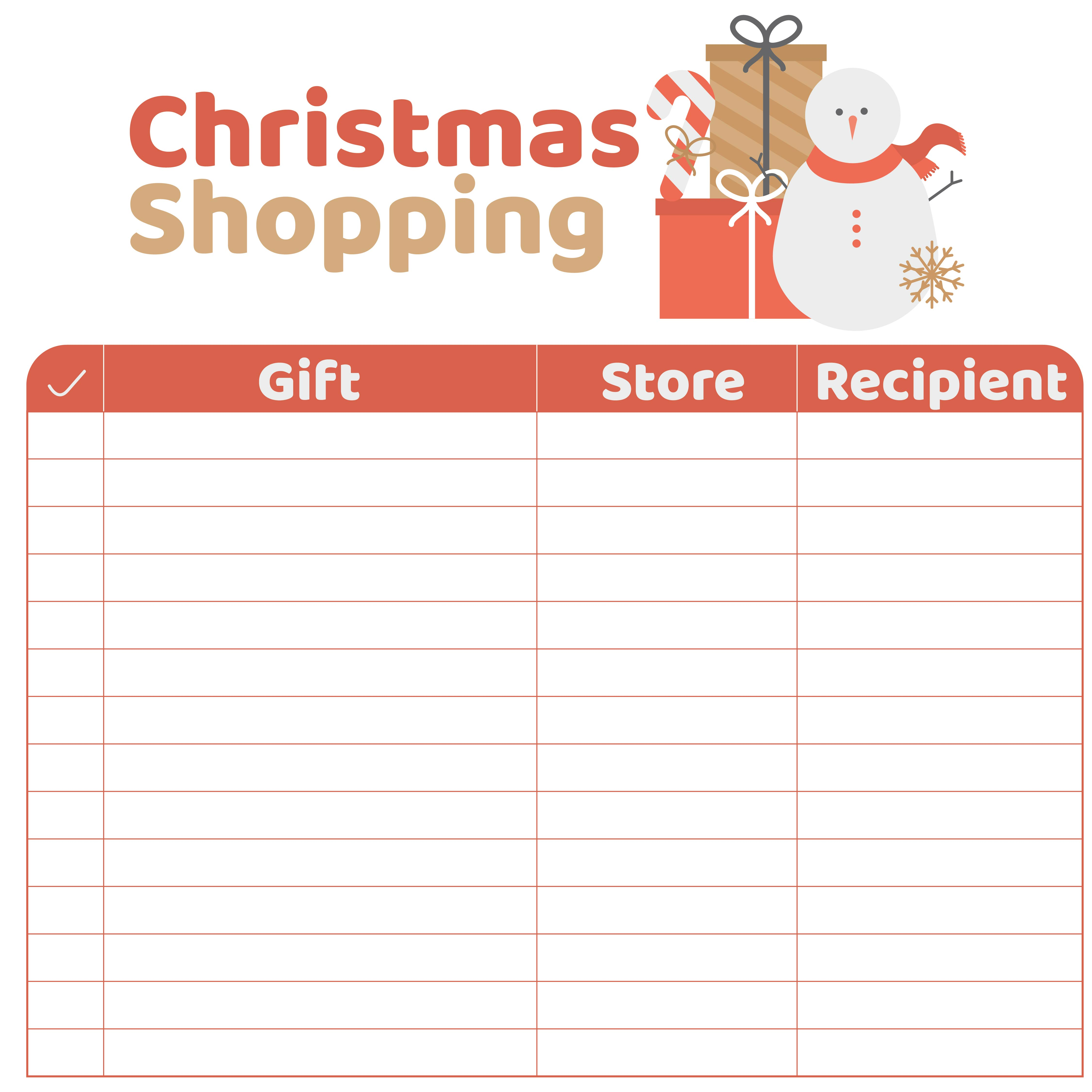 5 Best Images Of Printable Christmas Wish List Form Boys