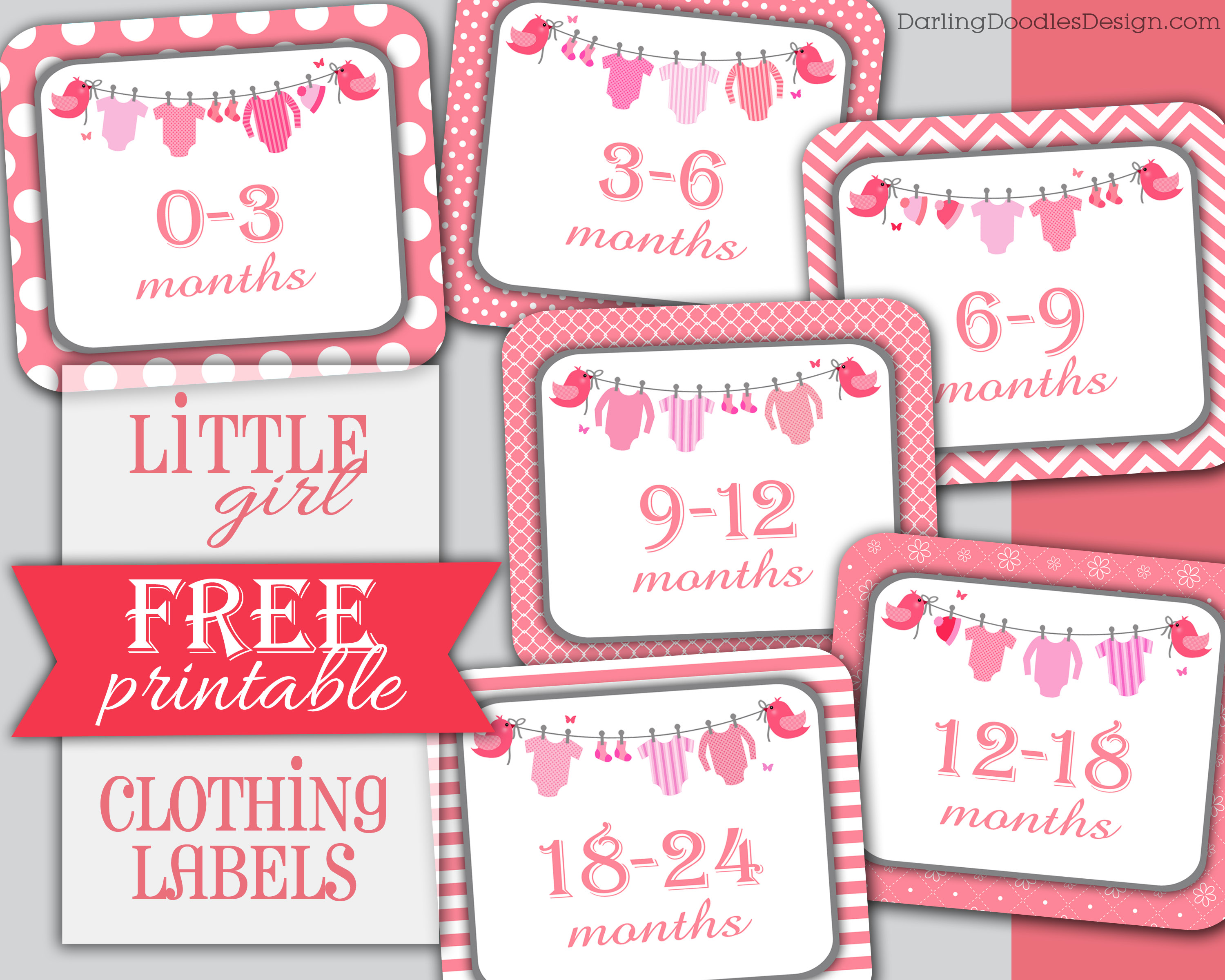 Free Printable Clothing Labels