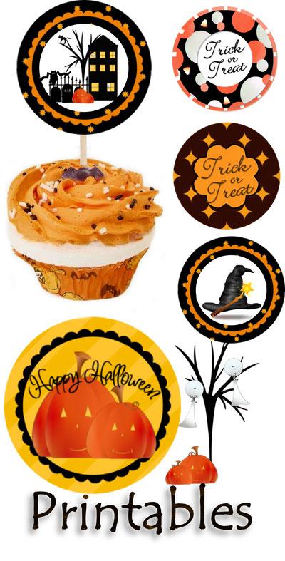 6 Images of Free Printables Cupcake Picks