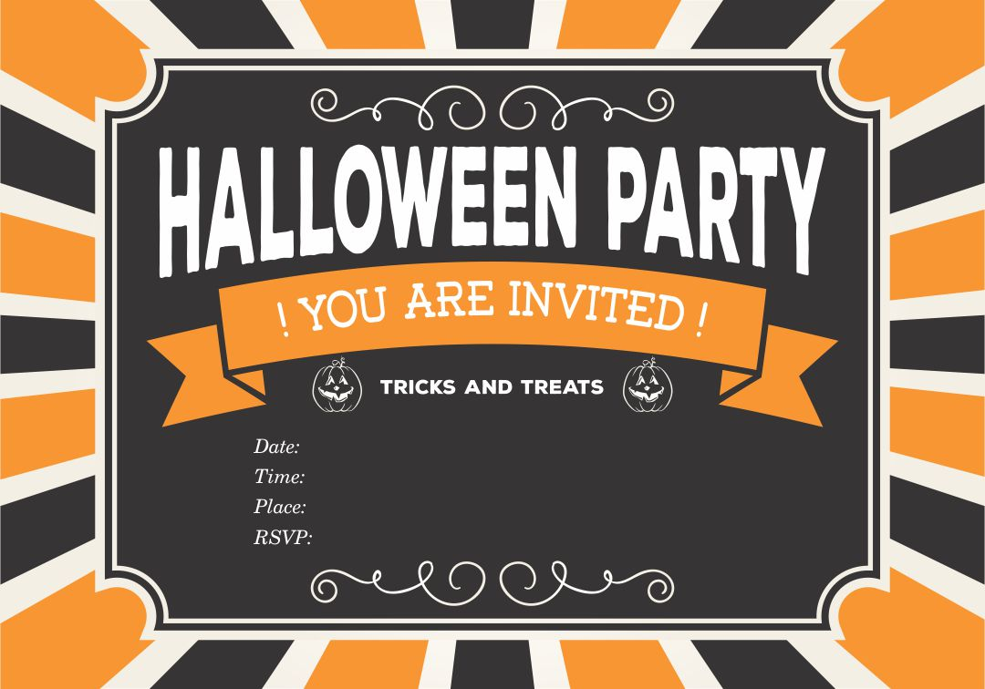 4 Images of Free Printable Halloween Flyer Templates