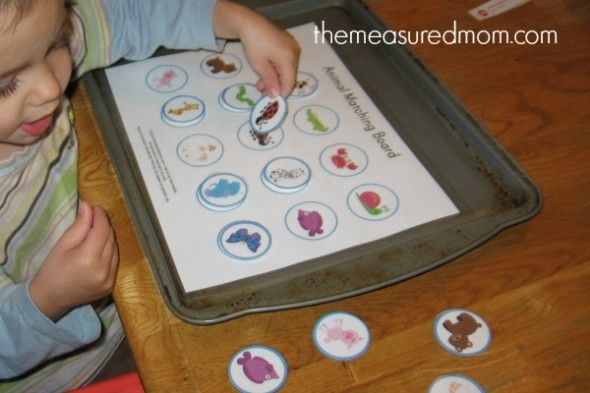 8 Images of Printable Toddler Activity Themeasuredmom