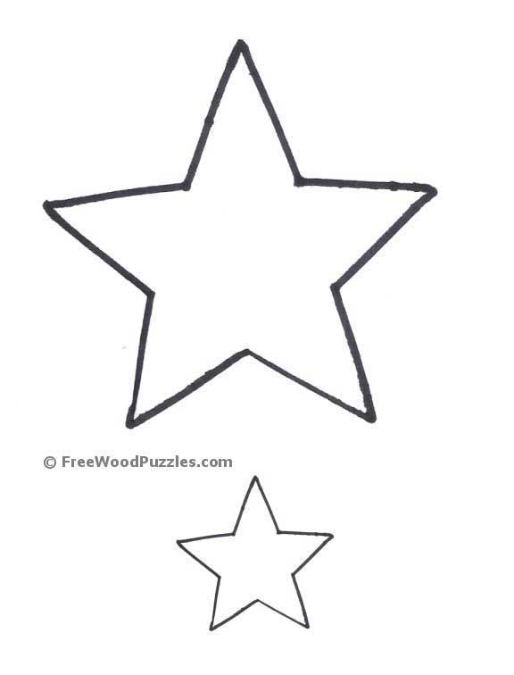 6 Images of Printable Star Pattern