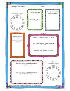 6 Best Images Of Printable Vacation Journals For Students