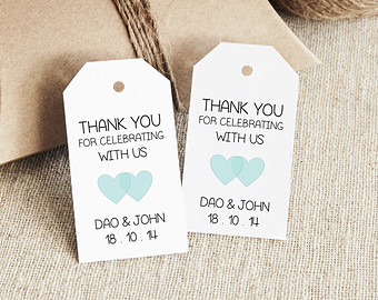 Wedding Gift Tags Template Free : Wedding Favor Tags, Free Printable Wedding Favor Tag Templates & Free ...