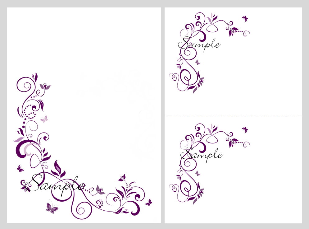 8 Images of Purple Butterfly Templates Printable Free