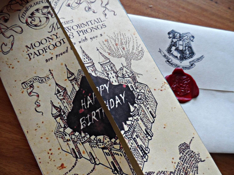 Гарри поттер открытки 75