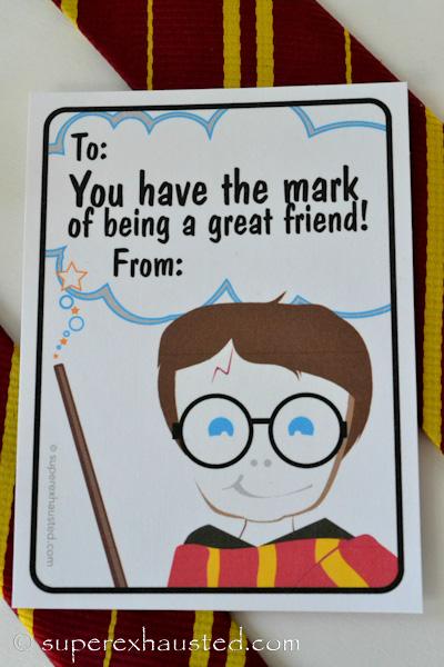 Harry Potter Printable Birthday Cards