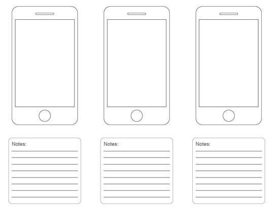 7 Images of Free Printable IPhone Templates