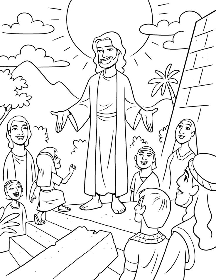 9 Images of Printable LDS Coloring Pages