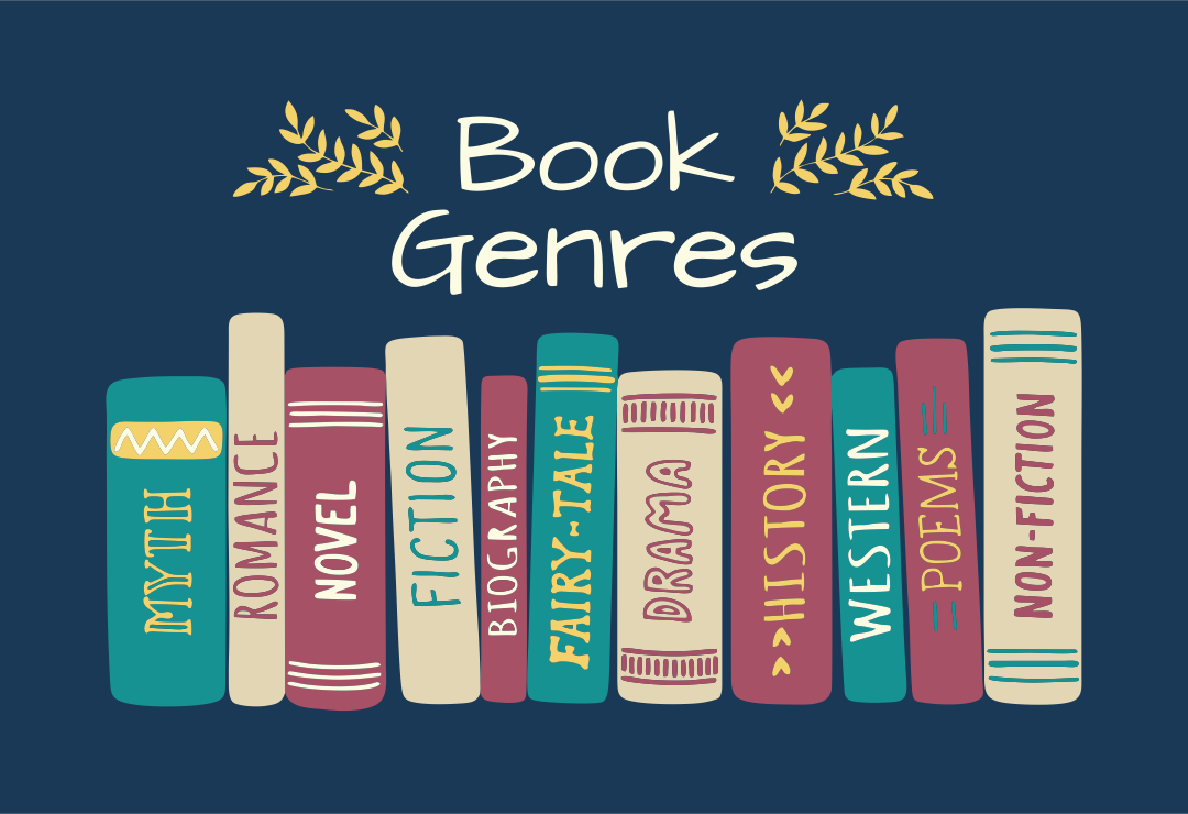 List of Book Genres Reading