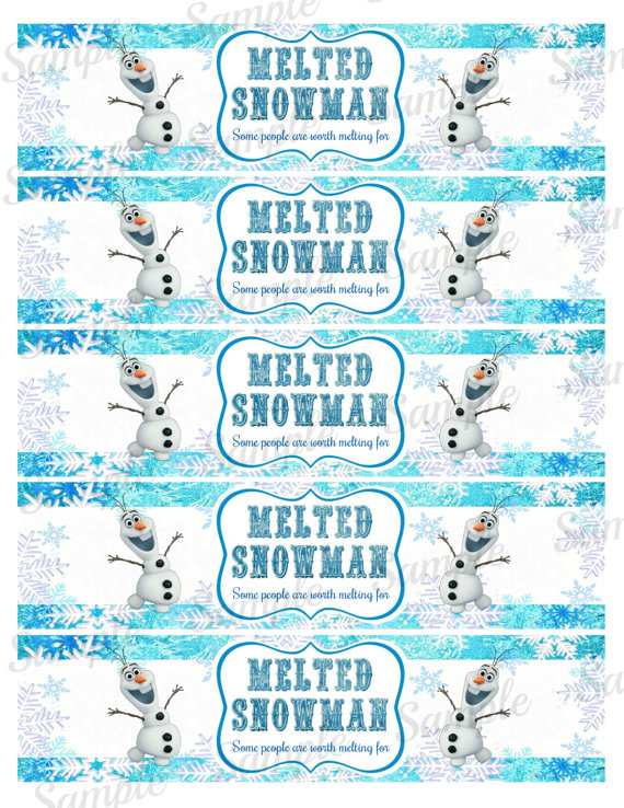 8 best images of free frozen printables water bottle disney frozen water bottle labels frozen. Black Bedroom Furniture Sets. Home Design Ideas
