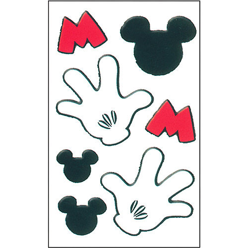 Mickey Mouse Hand Printable