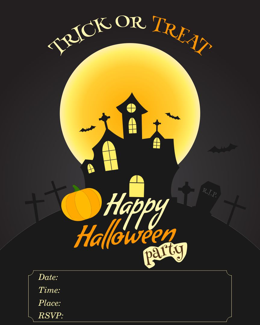 free halloween flyer templates 4 best images of free printable halloween flyer templates