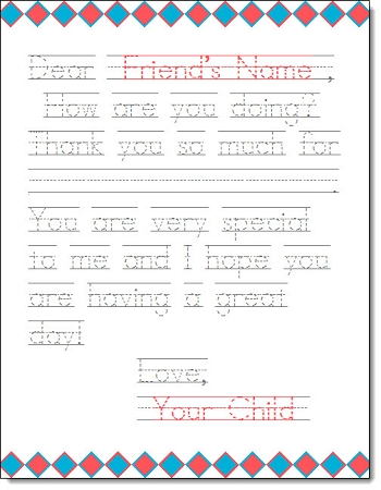 Printable Thank You Letters