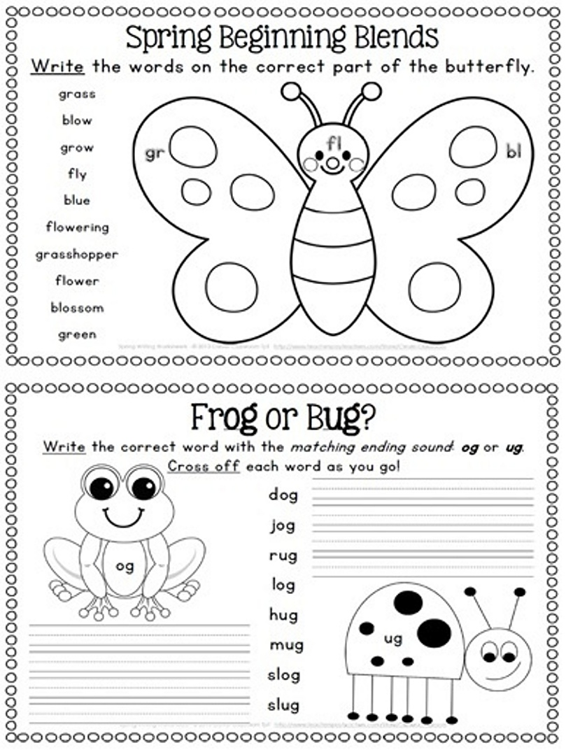 spring preschool worksheets 7 best images of printable activity worksheet 480