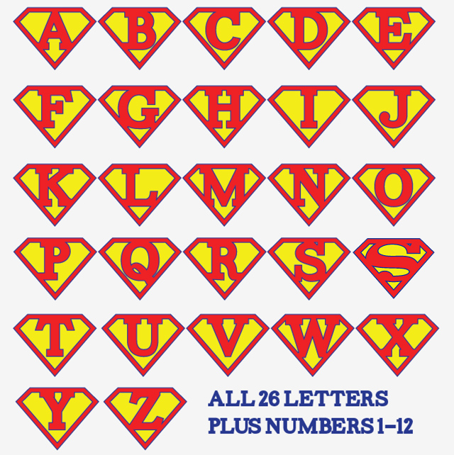 9 Images of Free Superman Printable Birthday Banners