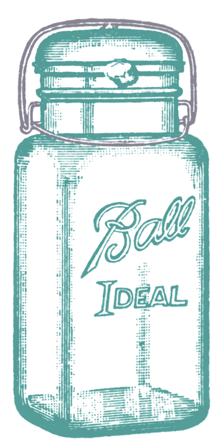 5 Images of Ball Jar Printables