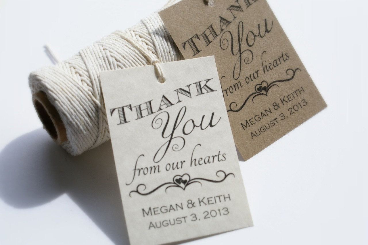 Wedding Thank You Gift Tags Template : ... Wedding Favor Tags, Free Printable Wedding Favor Tag Templates and