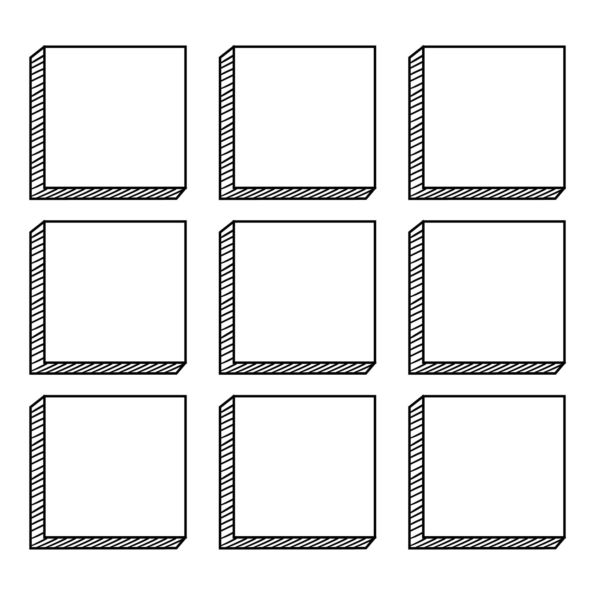 6 Images of Square Templates Printable Free