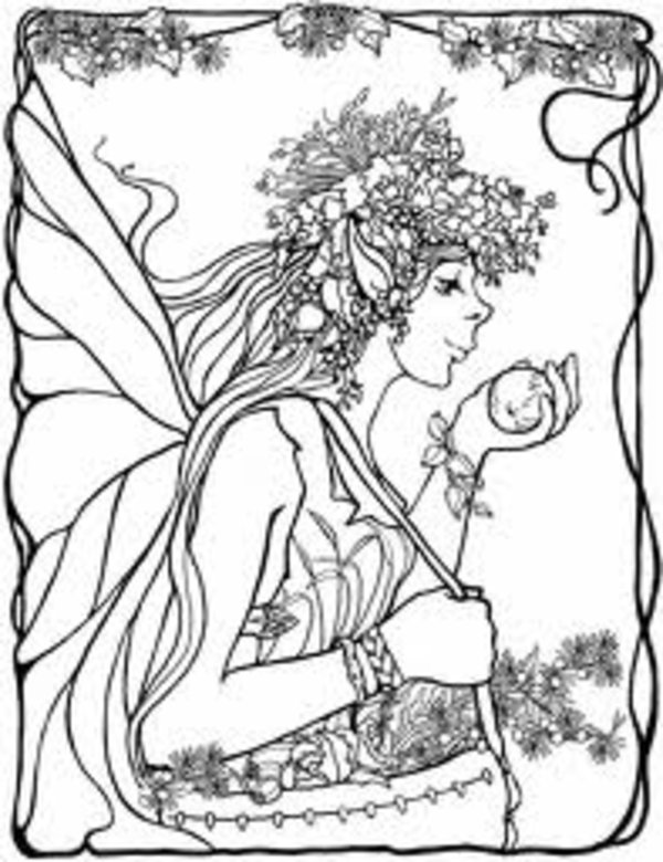 8 Images of Free Printable Adult Coloring Pages