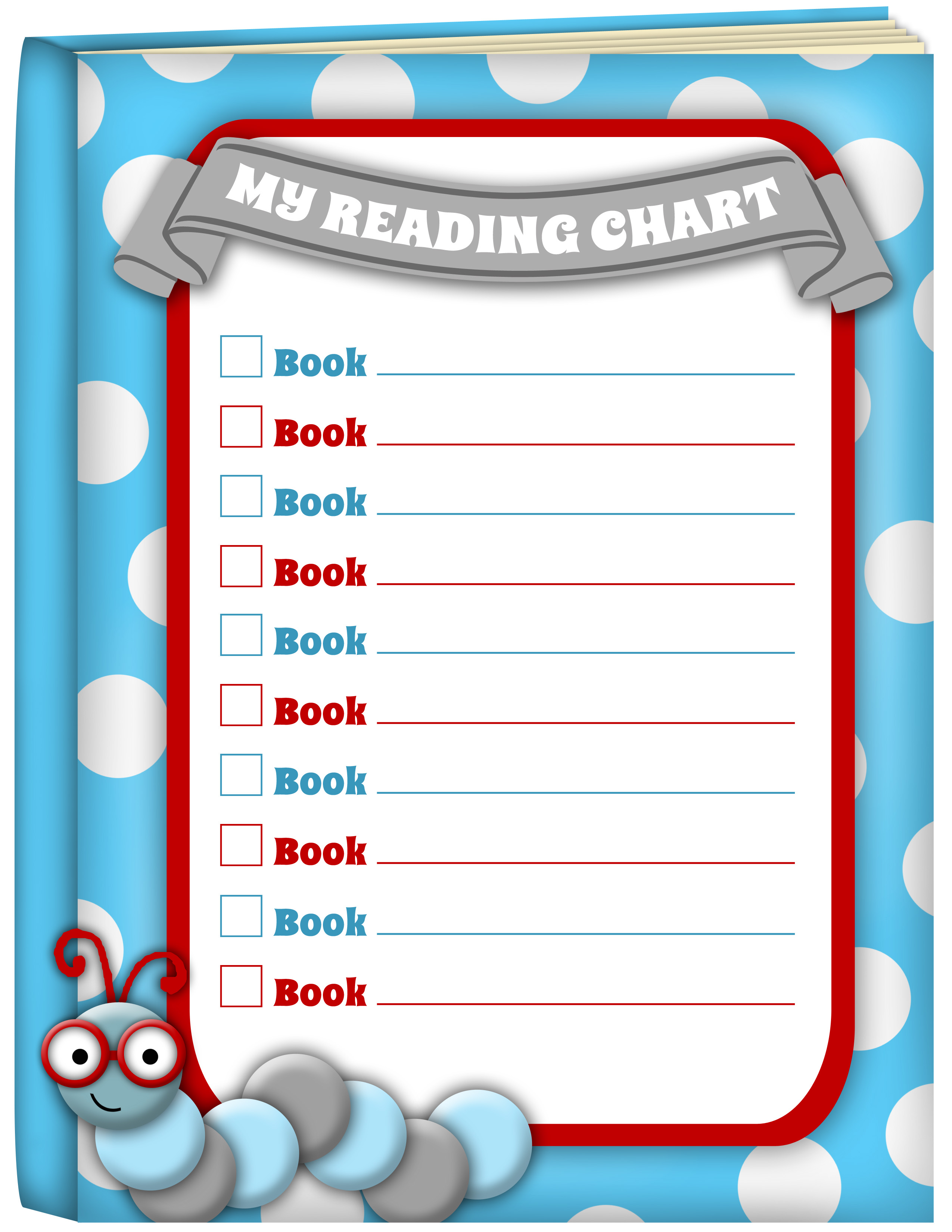 5 Images of Free Printable Reading Chart