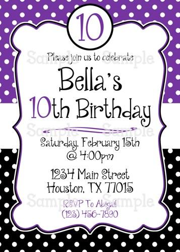 feminine photo birthday invitation woman s party