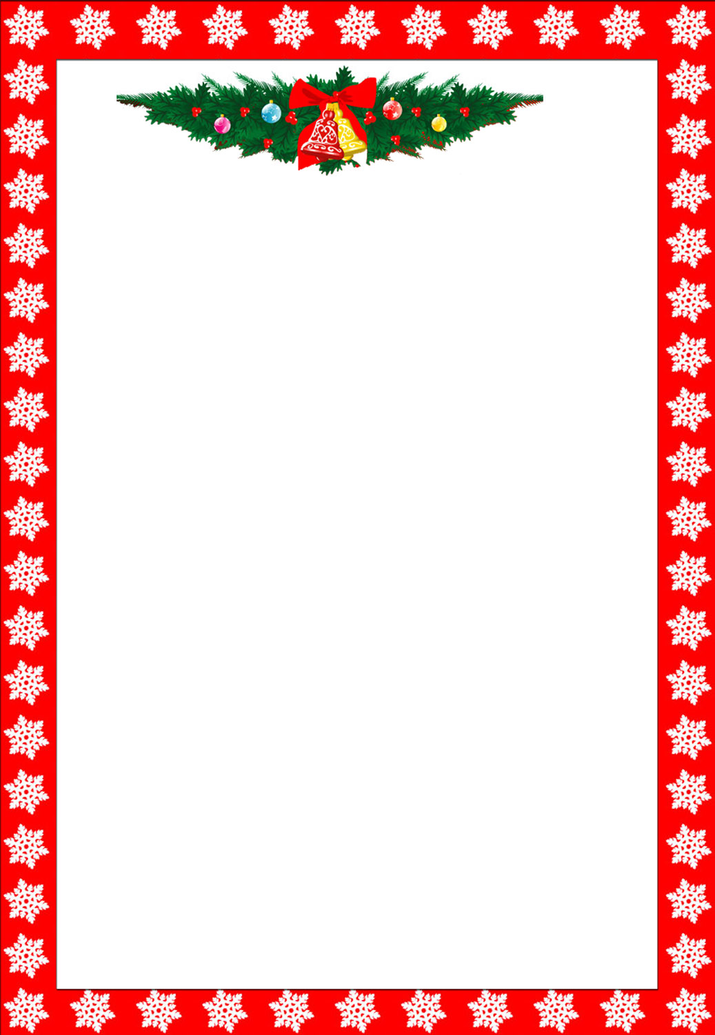 Christmas Borders Clip Art Free Printable Images & Pictures - Becuo
