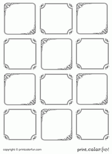 6 Images of Elegant Gift Tags Printable