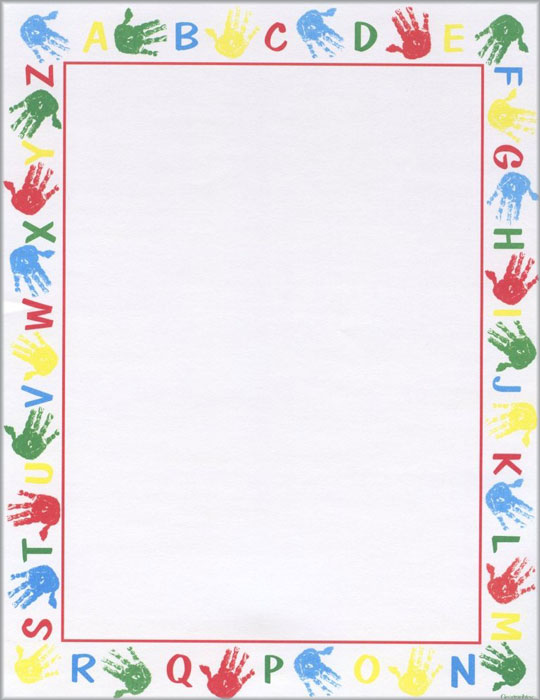 7 Best Images of Free Printable Alphabet Borders - Free ...