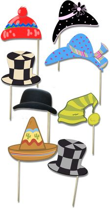 5 Images of Free Printables Party Hats