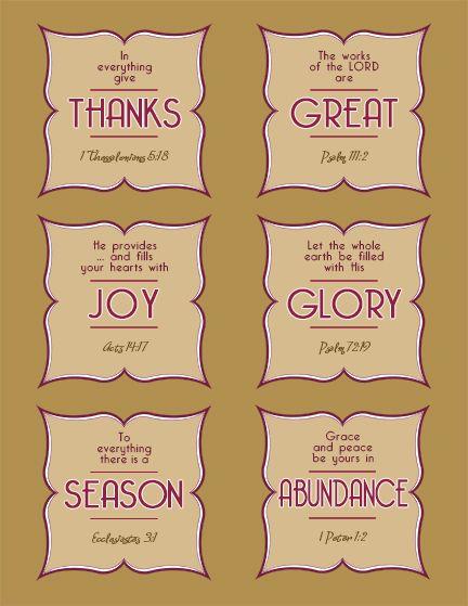 Free Printable Scripture Bible Cards