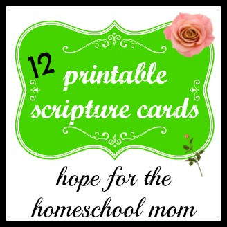 Free Printable Scripture Cards