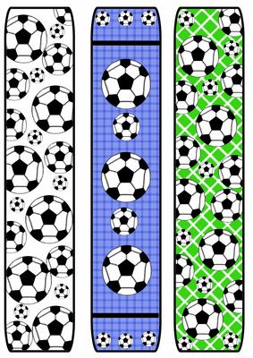 6 Images of Free Printable Football Bookmarks