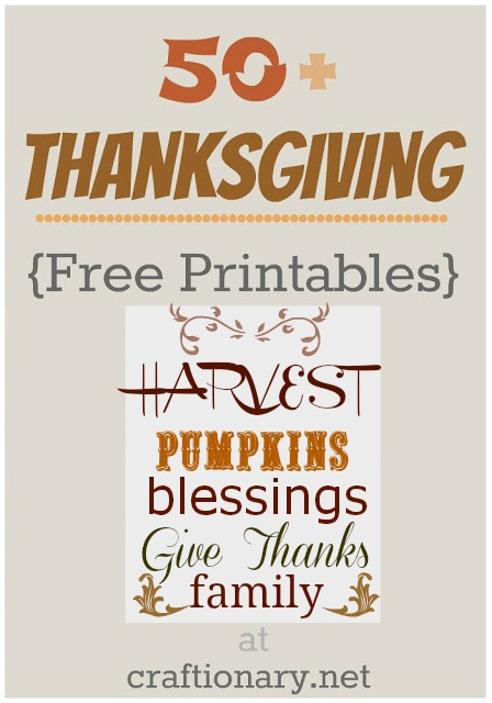 8 Images of Thanksgiving Printable Ideas