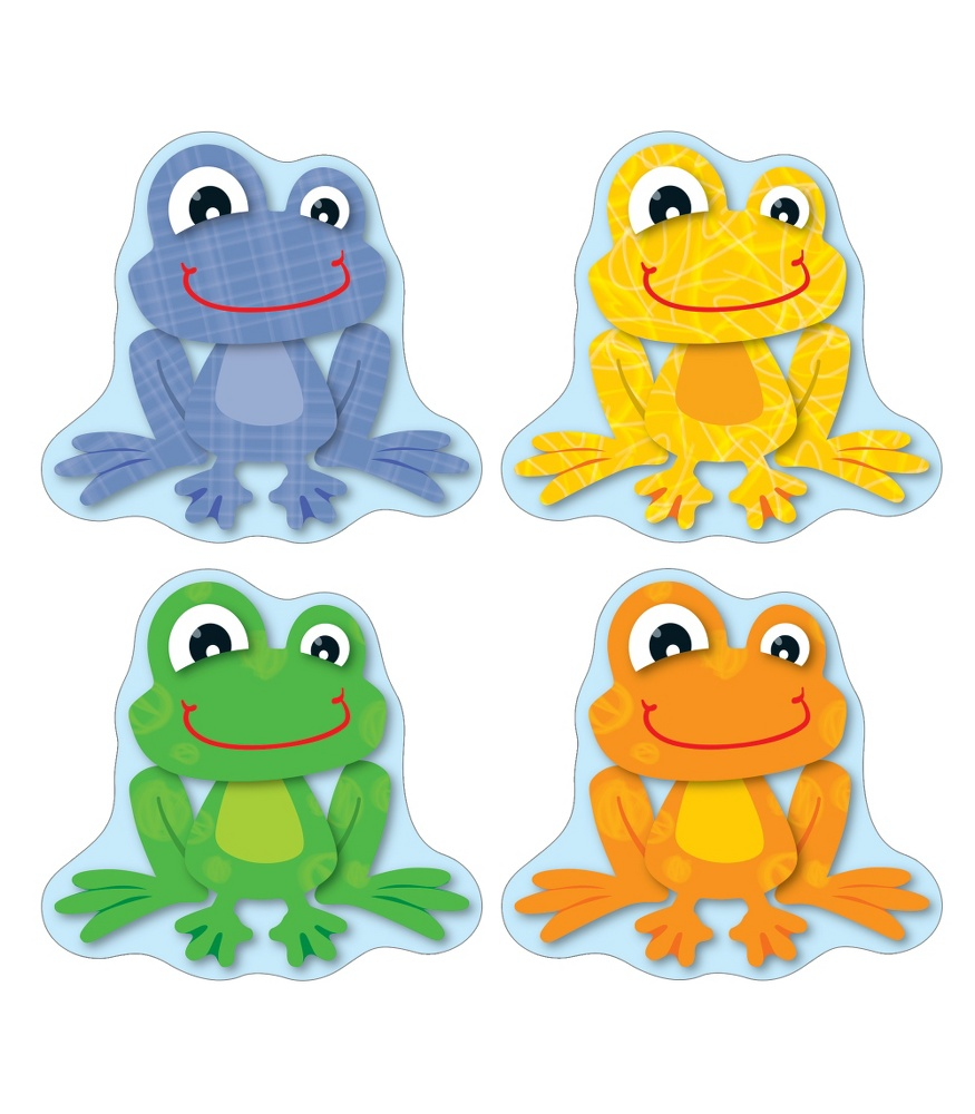 5 Images of Printable Frog Name Tags