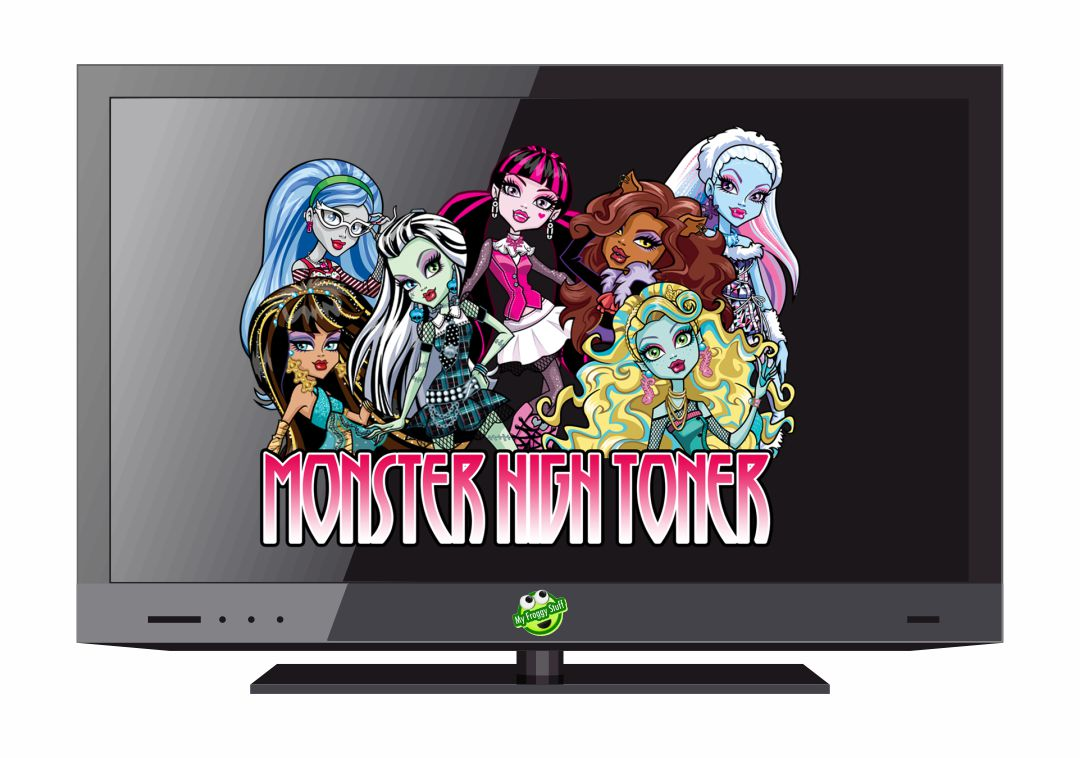 Monster High My Froggy Stuff Printables TV