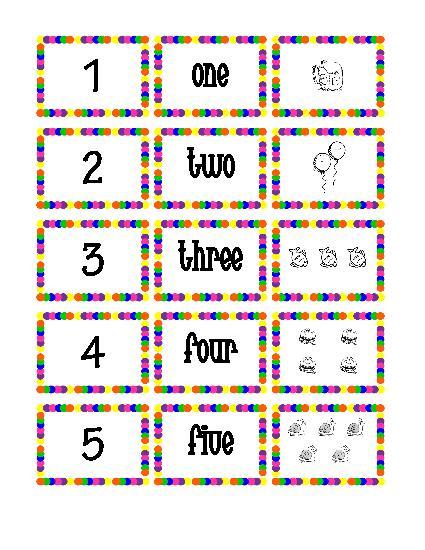 See Printable Number Flash Card 1, Number Flashcards 1 30 Printable ...