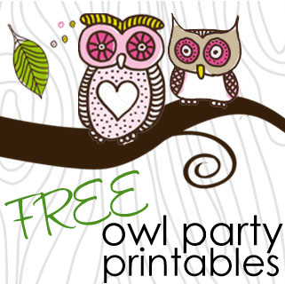 9 Images of Free Printable Pink Owl
